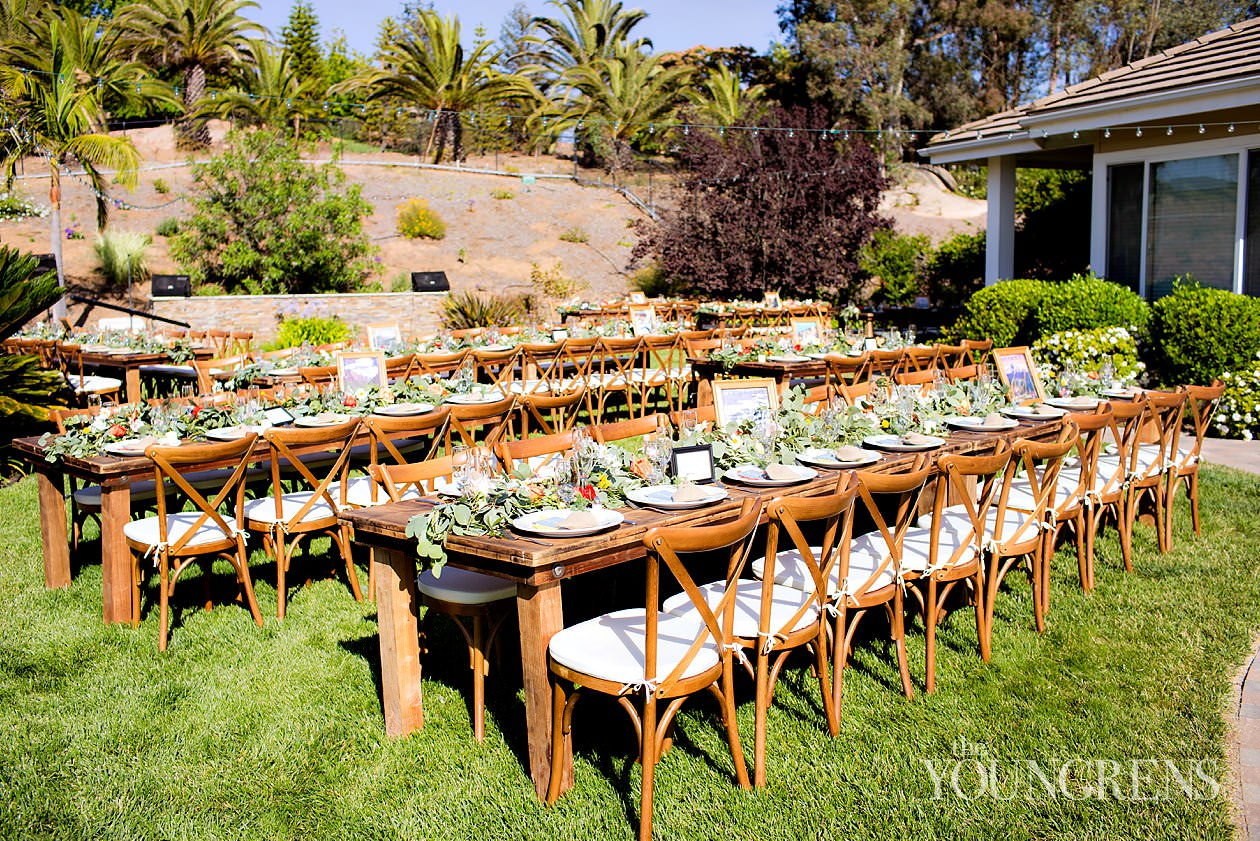 Estate Wedding In San Diego, Rustic Wedding In San Diego, San Diego Garden  Wedding