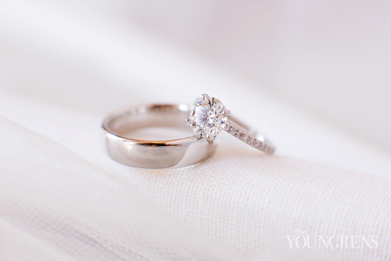 Lace Wedding Ring 33 Simple lauberge del mar wedding