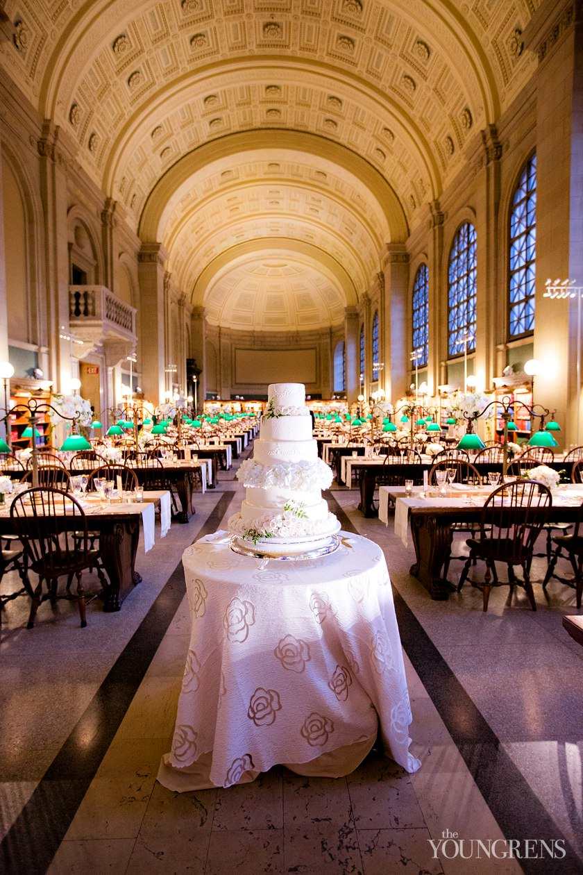 Boston Wedding Downtown Public Library Bpl