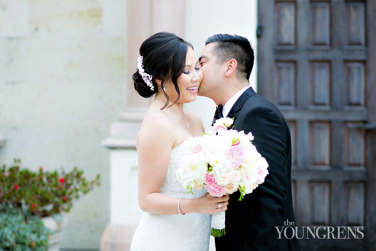 San Diego Wedding Gowns 73 Simple immaculata church wedding usd