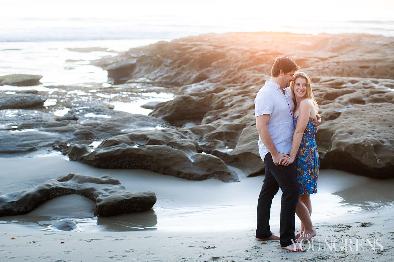 la jolla bike path engagement, la jolla engagement session, classic la jolla engagement session, birdrock engagement session, birdrock beach engagment session, windansea engagement session, engagement session on the la jolla bike path, classic beach engagement session