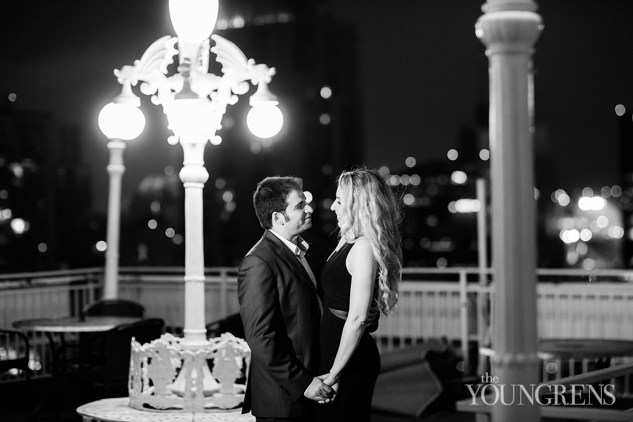 rooftop engagement session, st james hotel engagement session, hotel st james engagement session, st james rooftop engagement session, classic downtown engagement session, bar engagement session, san diego restaurant engagement session, date night engagement session, downtown san diego engagement session, elegant downtown san diego engagement session, city engagement session, city rooftop engagement