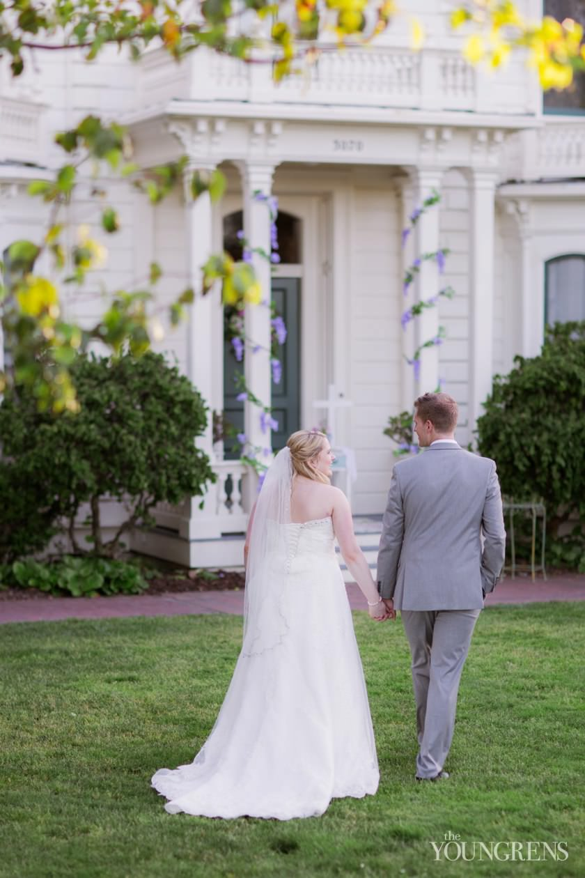 Santa Clara Wedding Photographer Rengstorff House Blue
