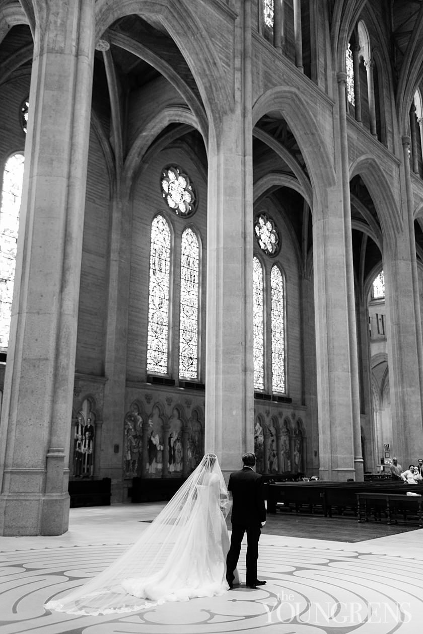san francisco church ceremony, ceremony at grace cathedral, grace cathedral wedding, classic church wedding, san francisco wedding, downtown san francisco wedding, nob hill wedding, grace cathedral ceremony, grace cathedral wedding photography