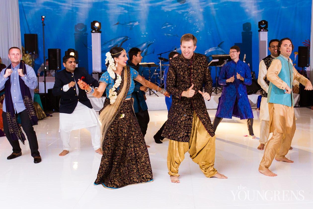 Laguna Cliffs Marriott Sangeet, dana point sangeet ceremony, indian sangeet, indian wedding ceremony, hindu wedding tradition, sangeet at the laguna cliffs marriott, sangeet with nahid, wedding elegance by nahid, sangeet photography