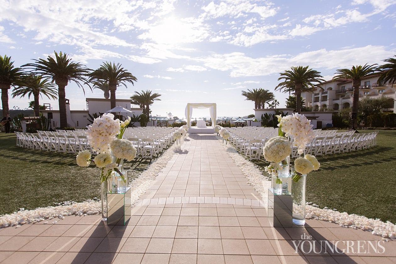 Monarch Beach Resort Wedding Dana Point Luxury Hotel Orange County