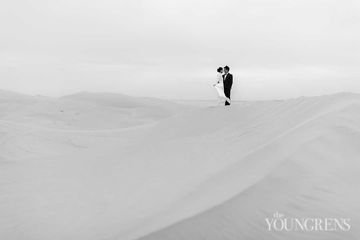 imperial sand dunes portrait session, wedding anniversary session, san diego anniversary session, classic anniversary portraits, glamis sand dunes engagement session, engagement session at the imperial sand dunes