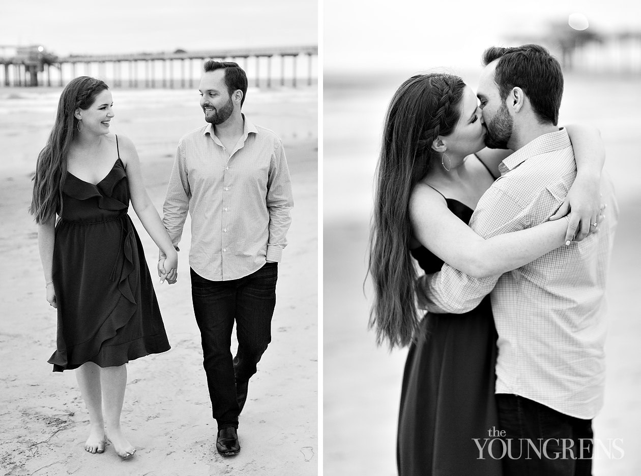 san diego engagement session, classic engagement session, scripps engagement session, scripps pier engagement session, scripps seaside forum engagement session, la jolla beach engagement session, la jolla sunset engagement session, engagement session on scripps beach