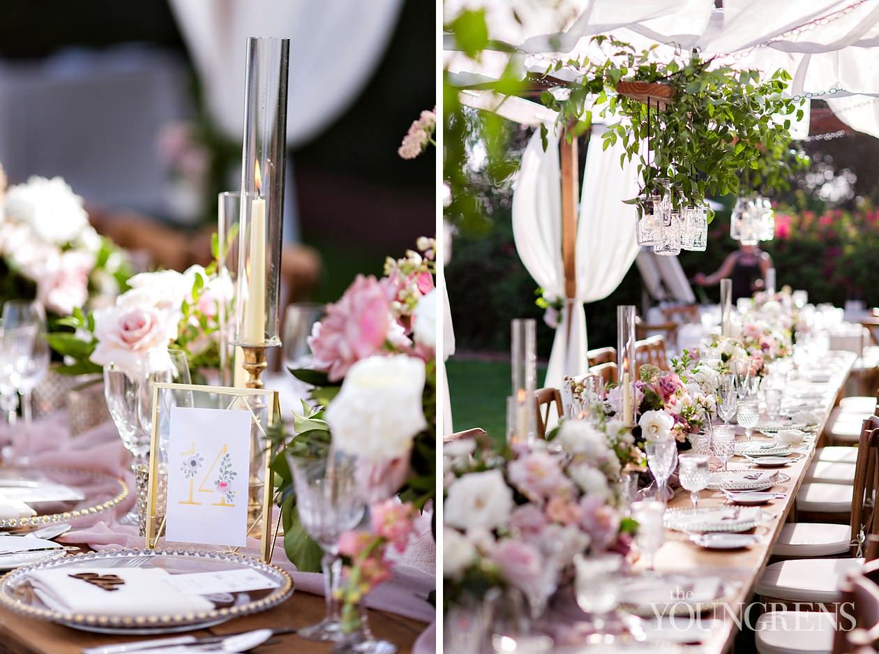 rancho valencia wedding, rancho santa fe wedding, resort wedding, parker and posies florals, elegant wedding, luxury wedding