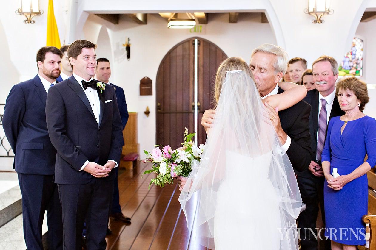 la valencia wedding, la jolla wedding, mary star of the sea wedding, white lace events