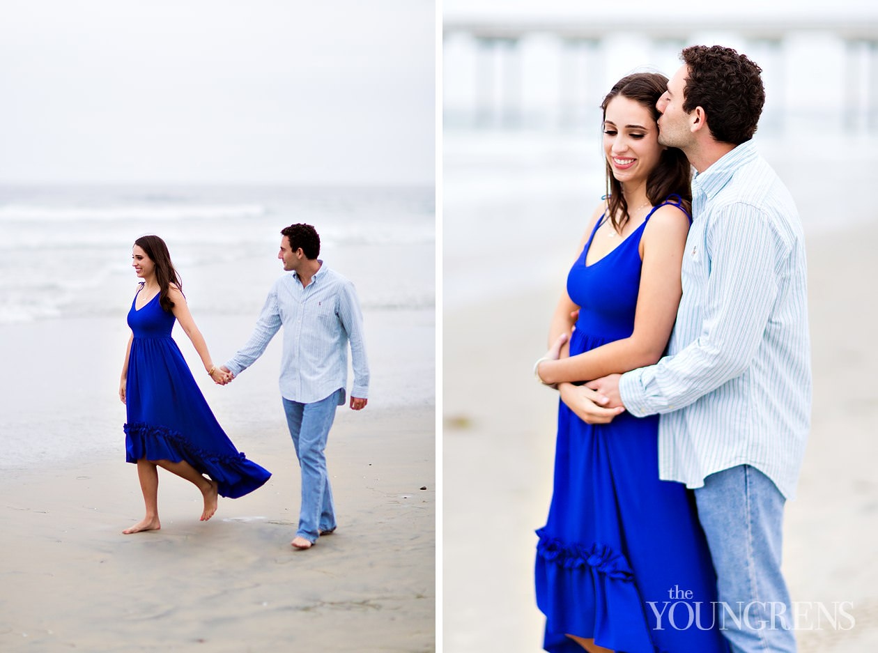 scripps pier, scripps pier engagement, beach engagement, san diego engagement, la jolla engagement, la jolla engagement session, scripps pier engagement session, beach engagement session