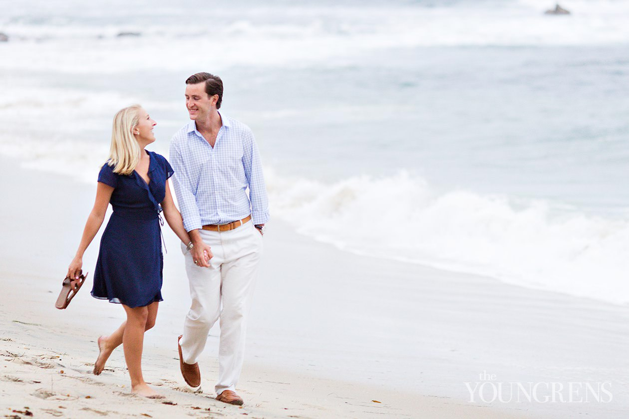 Newport engagement session, Newport Harbor Yacht Club engagement session, inspiration point engagement session, big corona engagement session, little corona beach engagement session