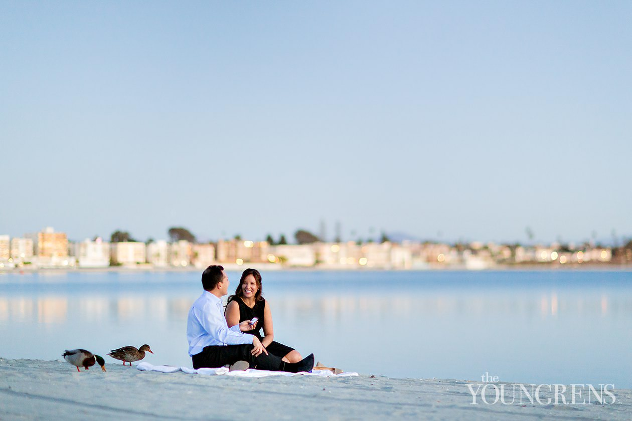 pacific beach engagement, crown point engagement, at home engagement, cozy engagement, mission beach engagement