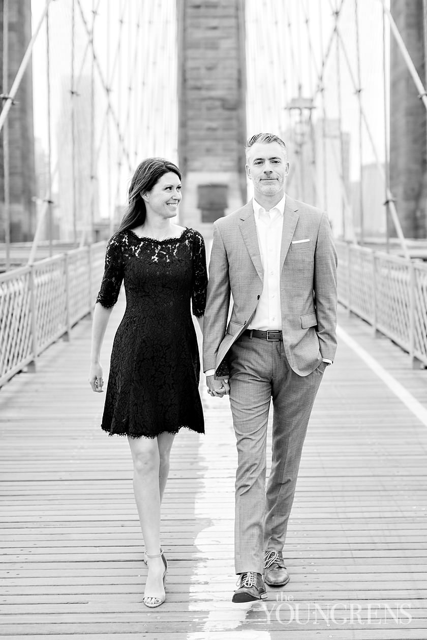brooklyn anniversary Session, brooklyn bridge anniversary, new york anniversary, new york city anniversary, new york portrait session, brooklyn portrait session, classic portrait session, brooklyn bridge portrait session