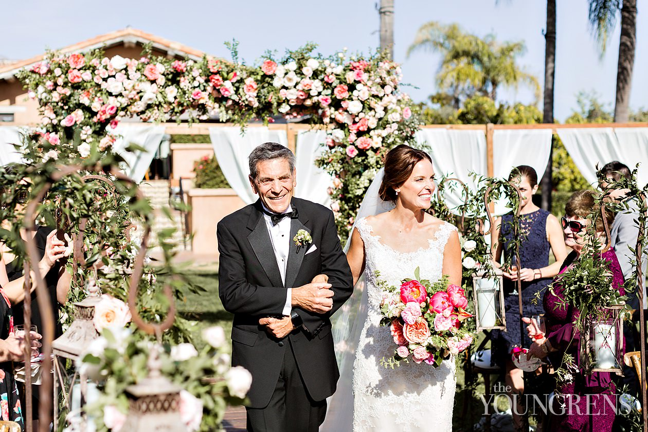 rancho valencia wedding, wedding at rancho valencia, sunrise terrace reception, susanne duffy wedding, crown weddings, annette gomez wedding, flowers by annette wedding, croquet lawn ceremony, liguori wedding