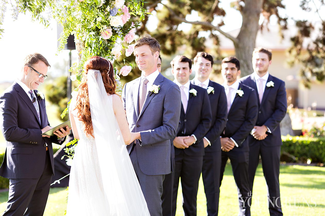 Lodge torrey pines wedding, the lodge wedding, wedding at the lodge, susanne duffy wedding, splendid sentiments wedding, crown weddings