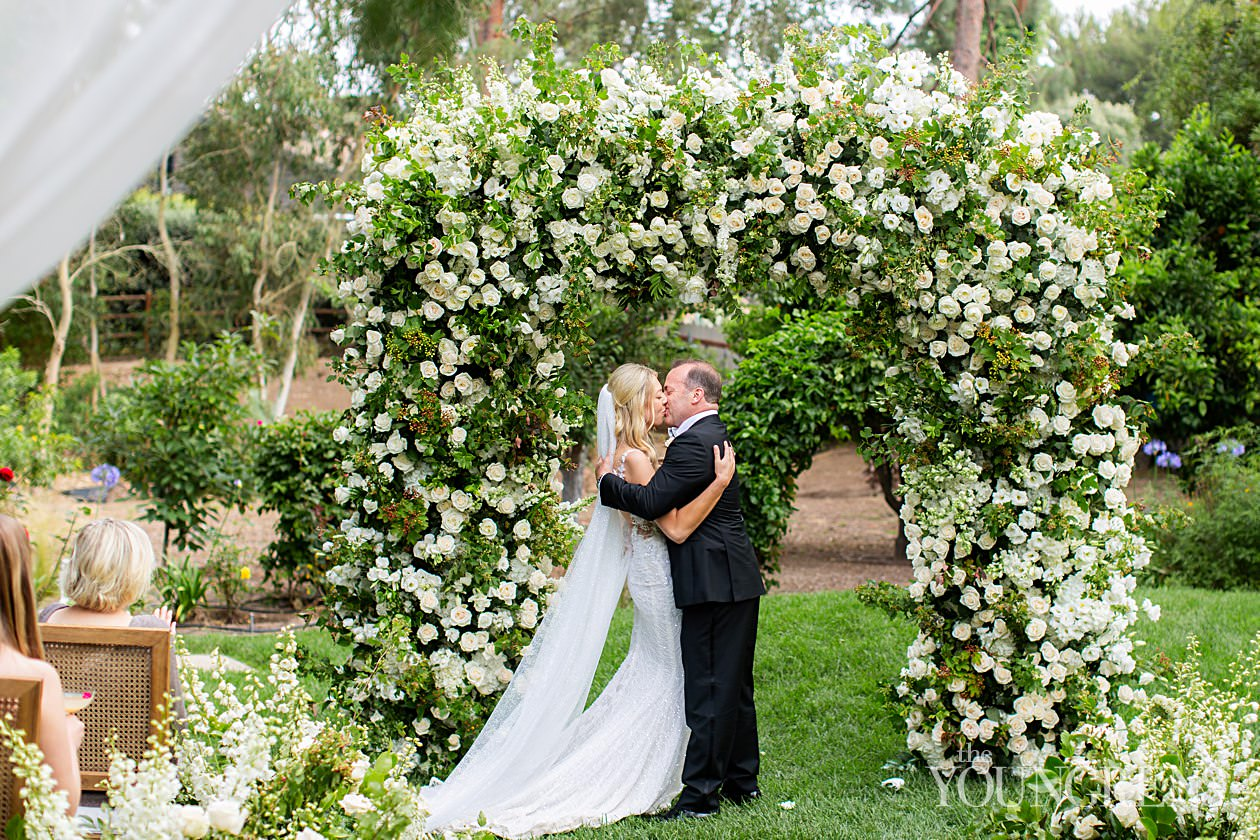 del mar private estate wedding, del mar wedding, crown weddings and events, susanne duffy weddings, backyard weddings, butterfly floral wedding, covid19 wedding, covid19 elopement, intimate wedding, romantic wedding