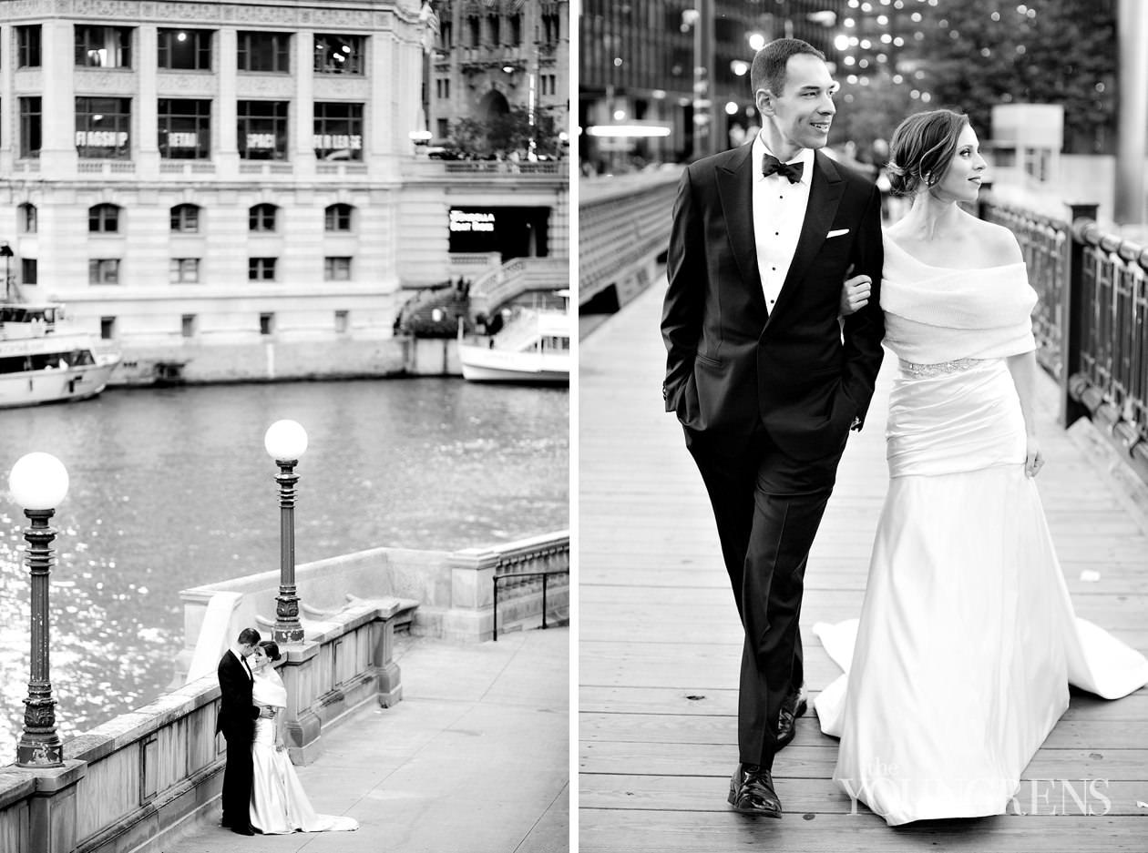 chicago wedding, downtown chicago wedding, black tie chicago wedding, luxury chicago wedding, chicago river wedding, city chicago wedding
