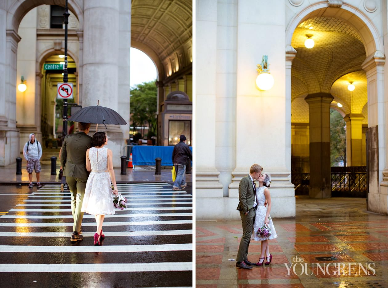 new york wedding, downtown new york wedding, manhattan courthouse wedding, brooklyn bridge wedding, new york subway wedding, courthouse wedding, anniversary session, new york anniversary session, manhattan anniversary session