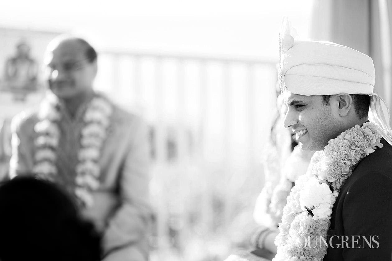 indian wedding, ritz-carlton wedding, half moon bay wedding, ritz-carlton half moon bay wedding, hindu ceremony, barat images, horse in a barat, seaside wedding, ocean view wedding, hot pink wedding, hot pink wedding dress, black tie wedding reception, Indian wedding ceremony, henna, sari, hot pink sari