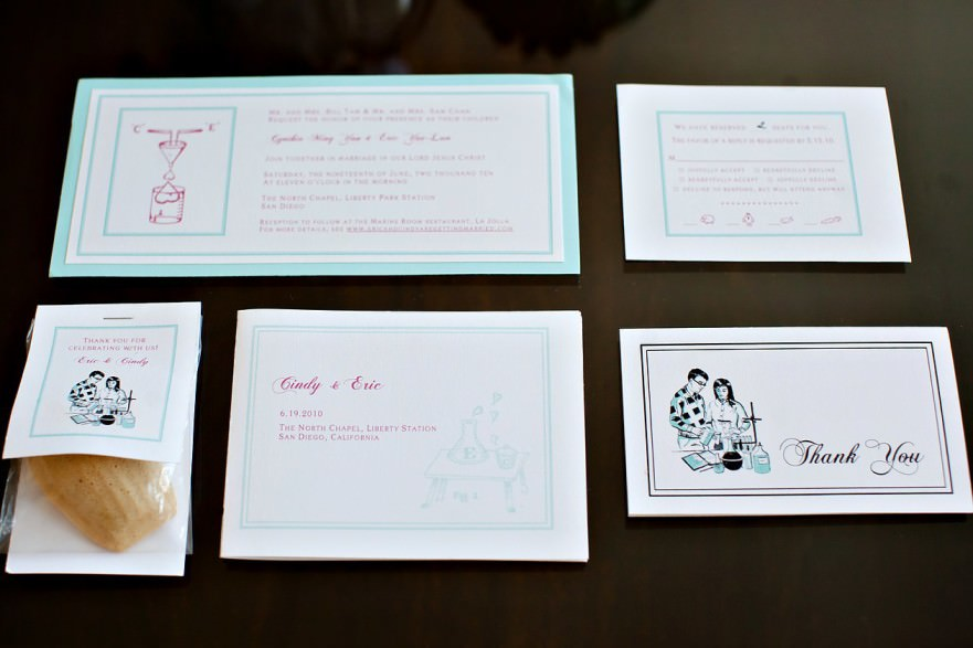 Be Inspired Science Themed Wedding Invitations The Youngrens San
