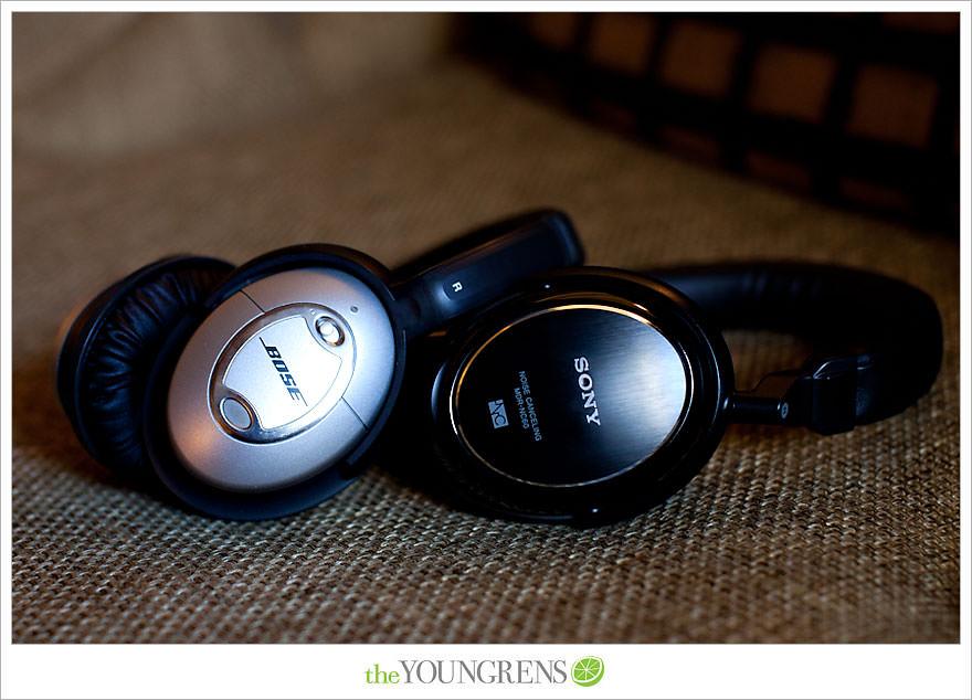 Bose Quietcomfort & Sony MDR-NC60 Noise Canceling Headphones