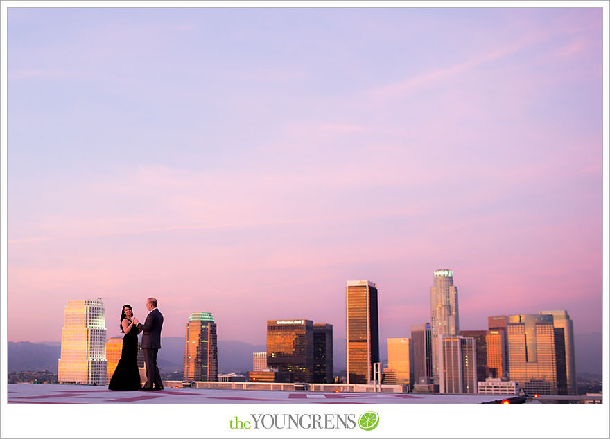 Los Angeles Helipad Engagement, The Youngrens