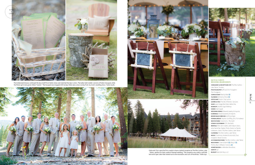 Ritz-Carlton Lake Tahoe Wedding 2, Photography by The Youngrens